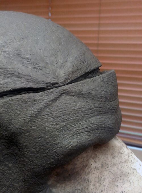 Sculpt closeup