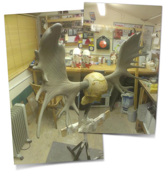 Antlers Sculpt Montage