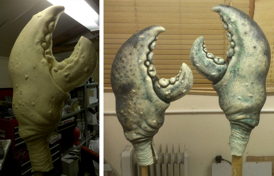Crab Claw - Latex Unpainted