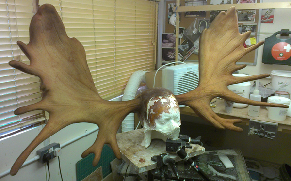 Finished Antlers Front