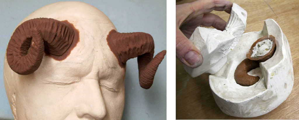 Horns Sculpt & Mould