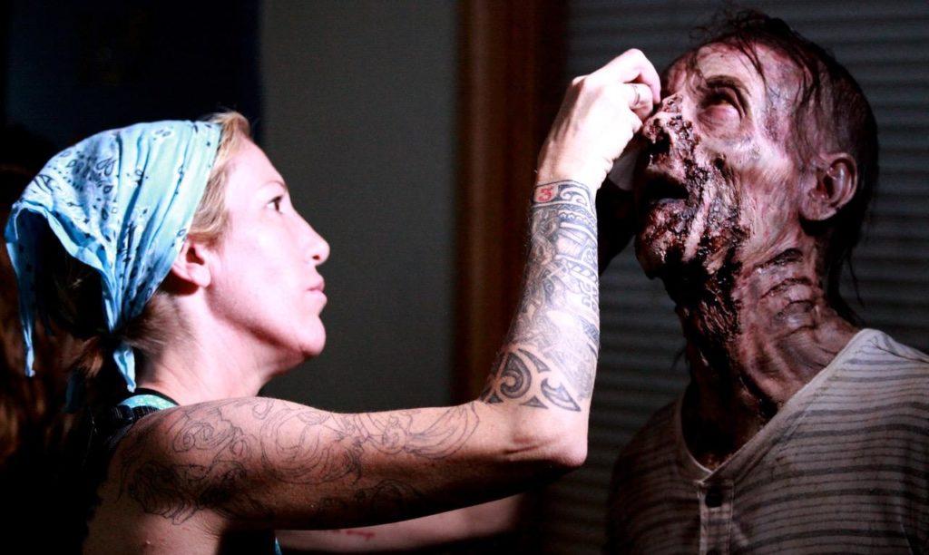 Devil makeup female celebrity